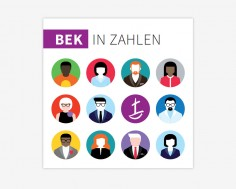Flyer 'BEK in Zahlen'